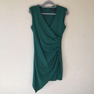 Adelyn Rae Faux Wrap Dress