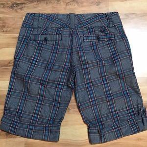Plaid Roxy shorts