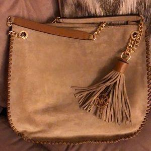 Handbags - Michael Kors suede hobo hand bag!