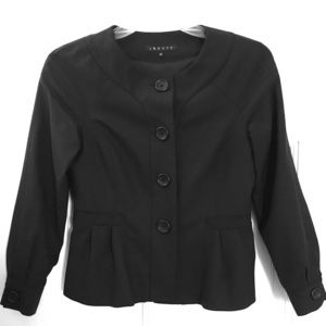 Theory Black Wool Blazer