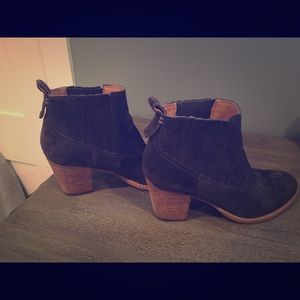 Dolce Vita Grey Booties Size 7,5