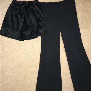 Other - Girls (M) Bundle of 2 active wear bottoms.