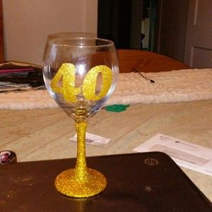 Other - Personalized Birthday Glass