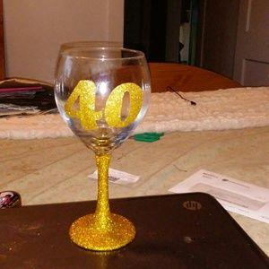 Personalized Birthday Glass