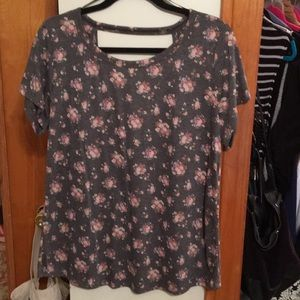 Flower Power Cut Out Forever 21 Top-Never Worn!