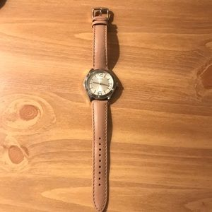 Womens leather fossil watch