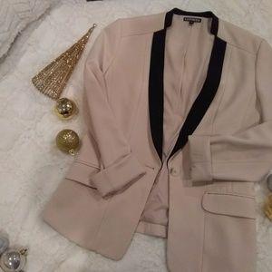 Express pale pink blazer