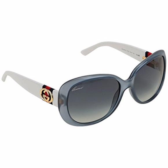 f7c90f61d8 Gucci Accessories - NEW GUCCI GG 3644 S WHITE   BLUE FRAME SUNGLASSES