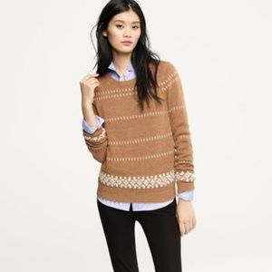J. Crew Fair Isle Nordic Sweater D155