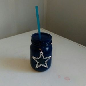 Other - Custom Made Dallas Cowboys Glass