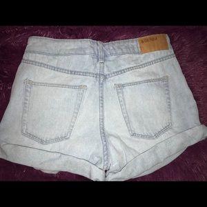 Light Wash H & M Denim Shorts
