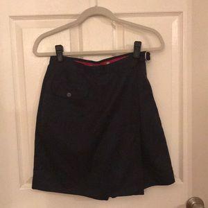 LizGolf Sz S Navy Blue golf skort shorts