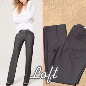 Ann Taylor Loft Petits Blue Gray Original Trousers