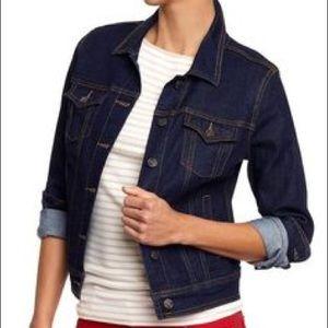 Old Navy dark denim jacket - XL
