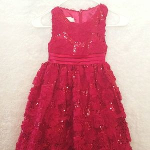 American Princess Sequin Size 6X Dress