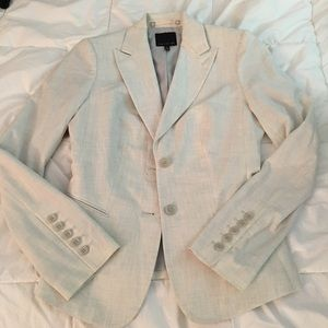 The Limited off white blazer