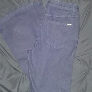 🎄bebe high rise flare jeans dark wash NWT size 30