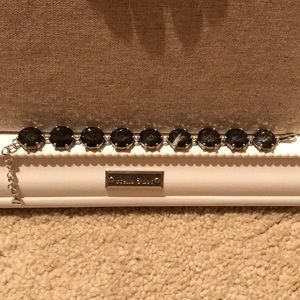 Stella and dot black sparkly bracelet
