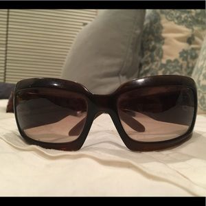 Authentic Chanel mother of pearl sunglasses