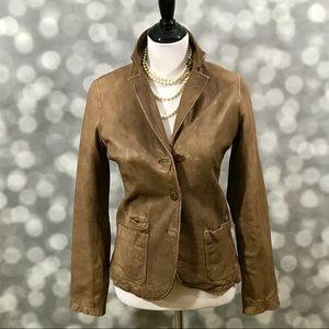 Vince butter soft leather jacket