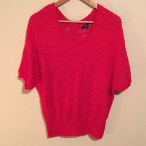 Red Gap sweater- short sleeve