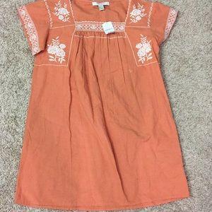 Forever 21 contemporary peach dress small nwt