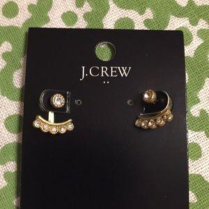 J Crew earring jacket