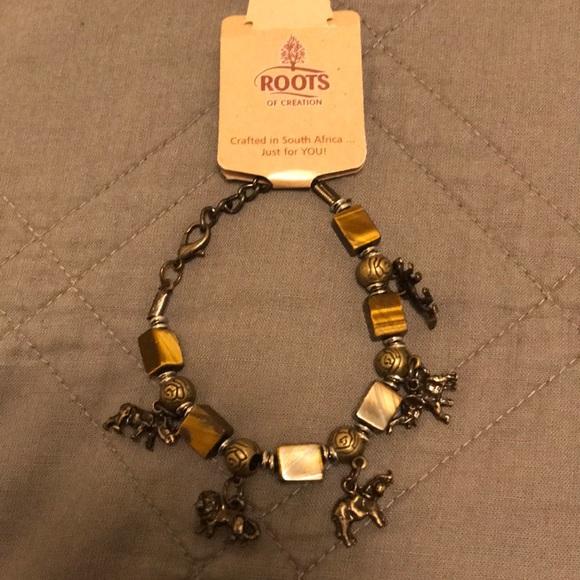 c4c84d982 Jewelry | South African Elephant Charm Bracelet Nwt | Poshmark