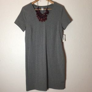 🆕NWT Heathered Grey Tee Shirt Dress