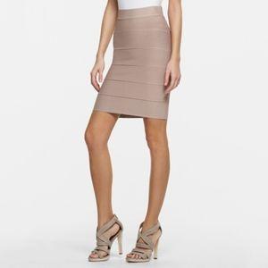 bcbg • mauve rose alexa power bandage pencil skirt