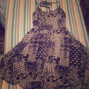 Billabong summer dress skater dress! Boho hippie.