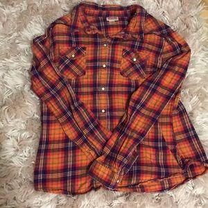 Women's plain flannel
