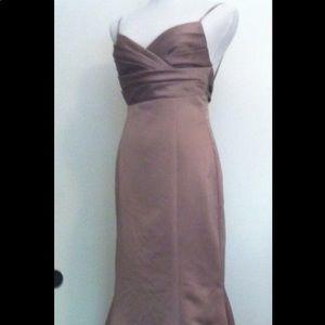 David's bridal bridesmaid dress size 4