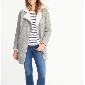 🆕 Old Navy Long Sherpa Jacket