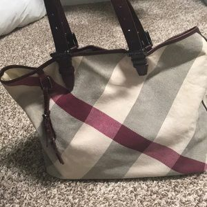 Burberry women's handbag.