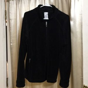 Black Danskin jacket!