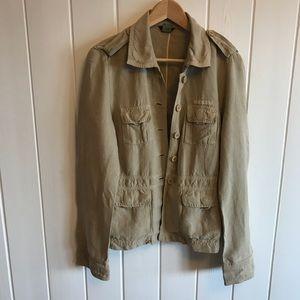 Jcrew safari jacket
