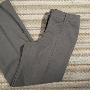 Ann Taylor Women Sz 4 Grey Fully lined  Slacks