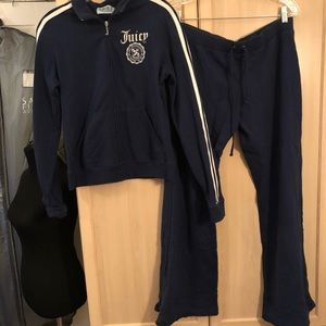Juicy Couture *vintage* navy tracksuit