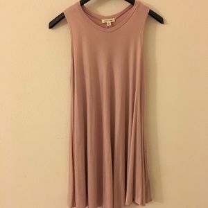 Urban Outfitters Silence + Noise pink tank dress