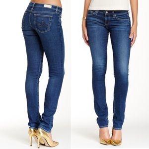 AG the Aubrey Skinny Straight Jeans