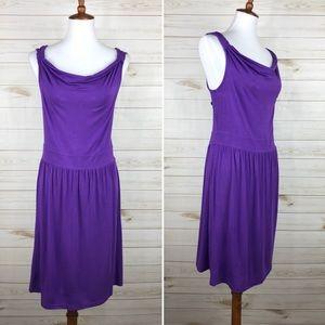 Loft Purple Dress