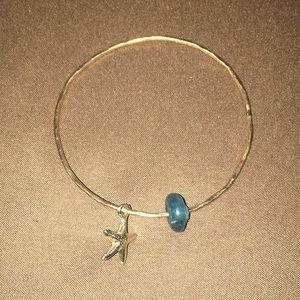 Jewelry - Starfish Gold Filled Bangle
