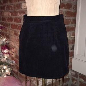 Xhilaration Black Corduroy Skirt
