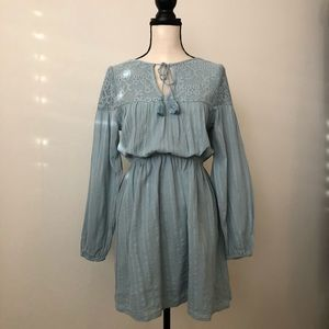 Cotton On Blue Dress with Tassel
