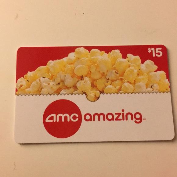 15 Dollar Amc Gift Card