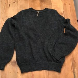 Free People Slouchy Wrap Sweater