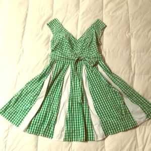 EShakti fit & flair dress