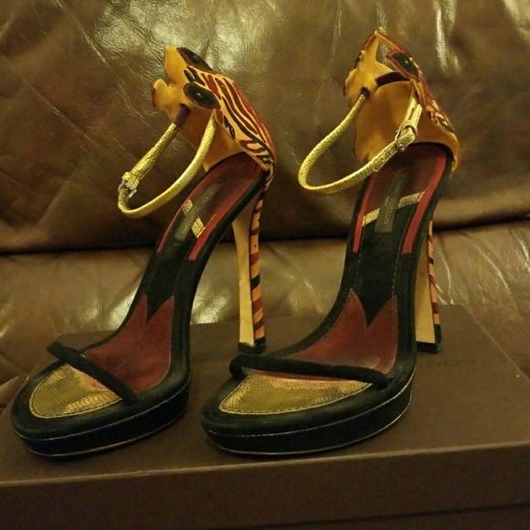 Louis Vuitton Shoes | Ankle Strap Heels