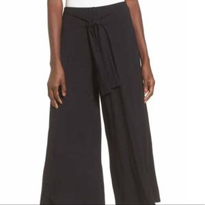 FREE PEOPLE Wide Leg Pants with Tie